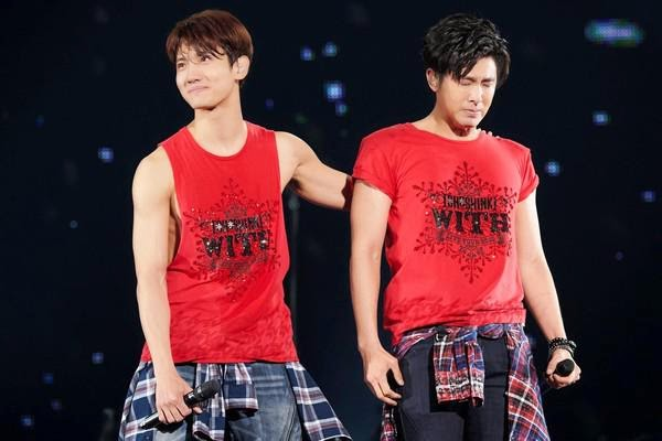 [VIDEOS] 150403 Reports on Tohoshinki Live Tour 2015 ~WITH~ in Tokyo Dome (FINAL)